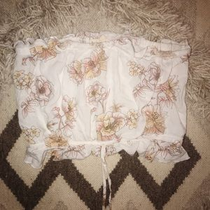 PacSun floral tube top!